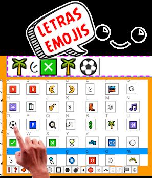 Letras 👢૯🌴Я🅰💲 Emojis ૯Ⓜ⚪🎷[̲̅i̲̅]💲