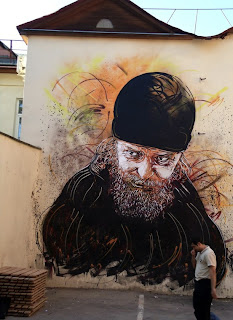 C215, street art, mural, large, stencil