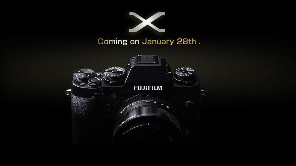 Fotografia ufficiale della Fujifilm X-T1
