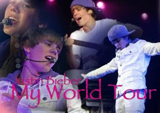 Justin Bieber My World Tour