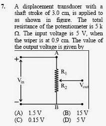 2013 December UGC NET in Electronic Science, Paper III, Question 7