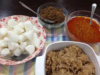 Nasi Impit Kuah Kacang Kelantan Dan Sambal Kelapa Share The