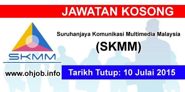Jawatan Kerja Kosong Suruhanjaya Komunikasi Multimedia Malaysia (SKMM) logo www.ohjob.info julai 2015