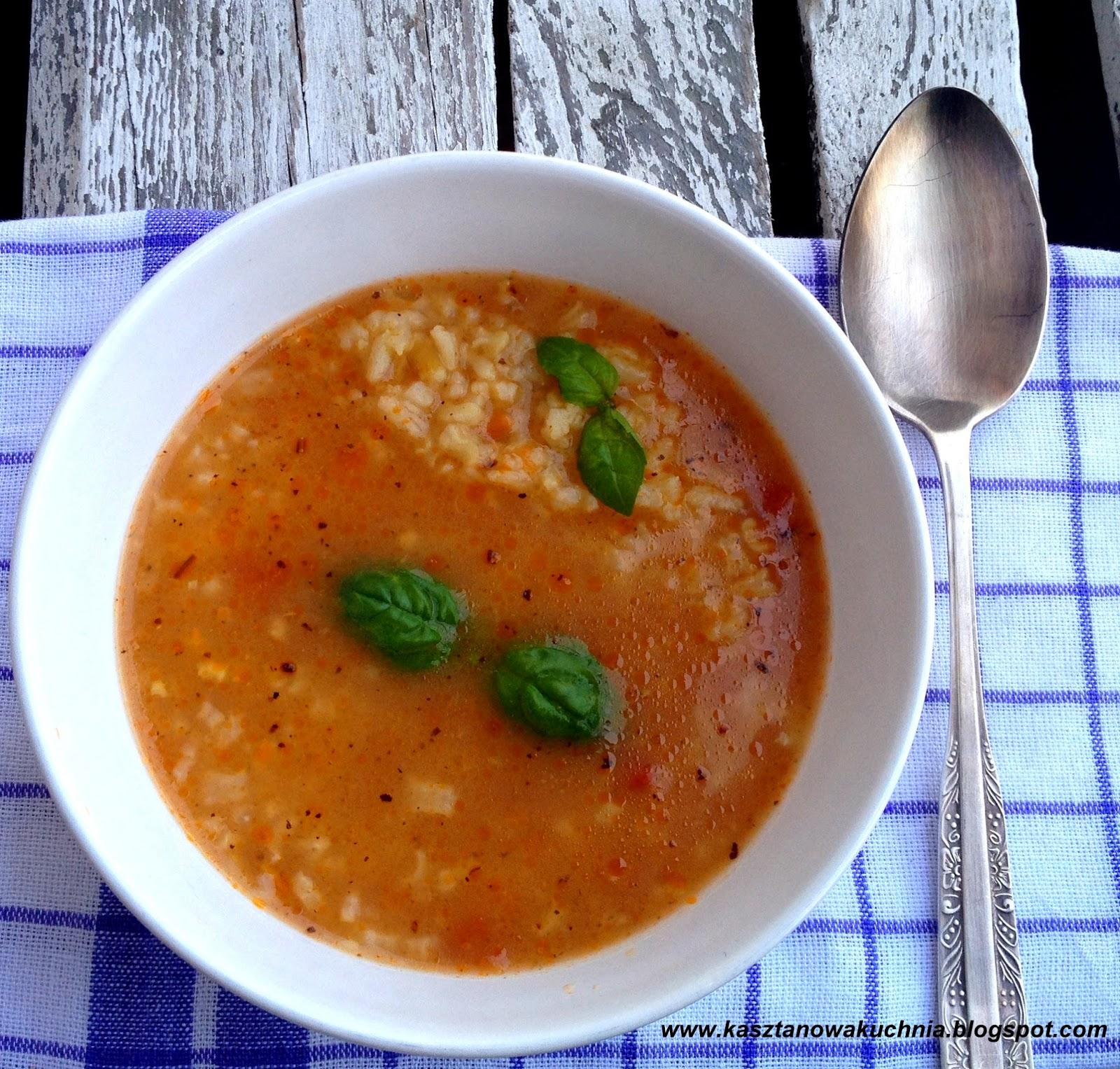 Kasztanowa Kuchnia Zupa Pomidorowa 11 Wloska