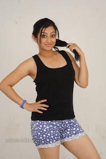 Cute Cheste Movie heroine Tanishka Pictures 014.jpg