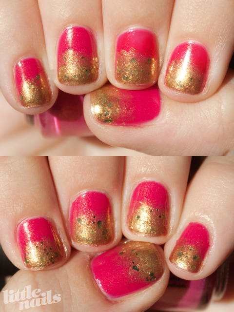 Effie Trinket Manicure - little nails