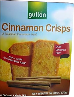 Gullon Cinnamon Crisps Biscuit Box