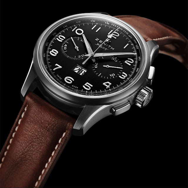 Zenith Pilot Big Date Special Watch dial