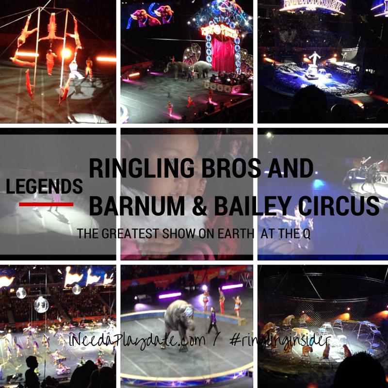Legendary Performance from @RinglingBros at @TheQArena  #RinglingInsider #sponsored
