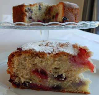 Three Berry Cake