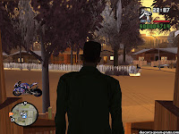 GTA San Andreas Snow Mod - screenshot 7