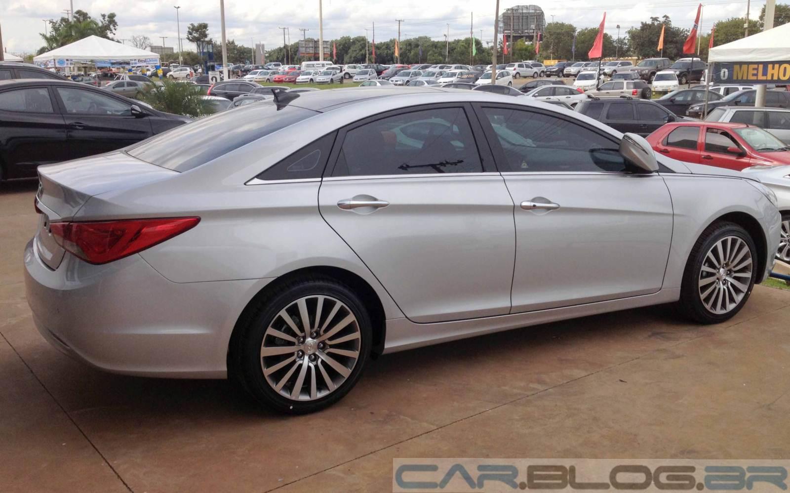 Hyundai Sonata 2013 Poucas Novidades E Pre 231 O De R 106
