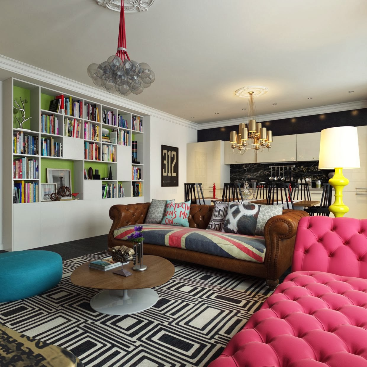 Interiornity source of interior design ideas for Funky decorations for the home