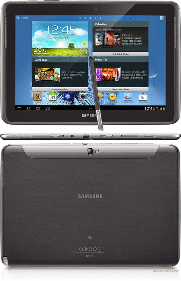 Harga Dan Spesifikasi Samsung Galaxy Note LTE 10.1 N8020