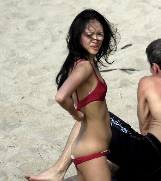 Zhang Ziyi Topless Bikini 118