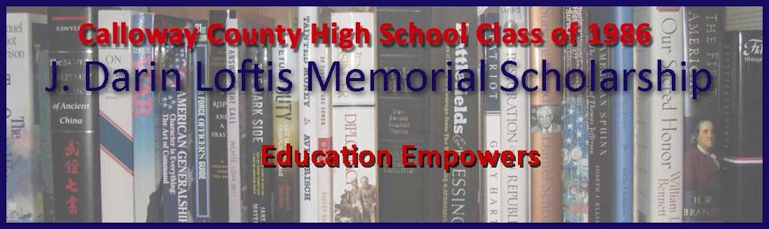 J. Darin Loftis Scholarship