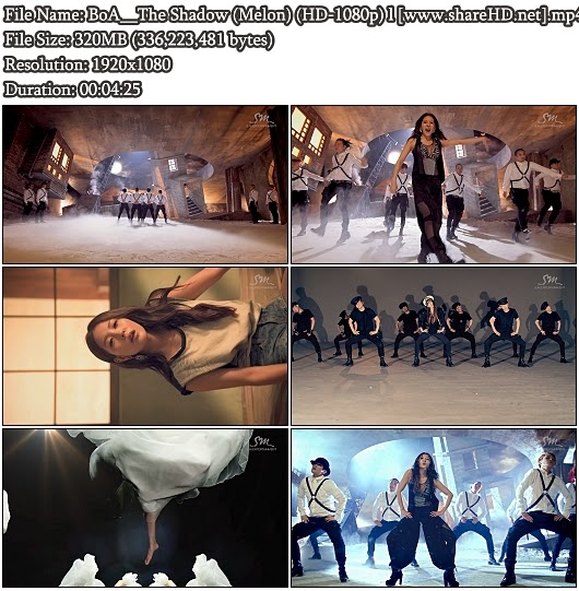Download MV BoA (보아) - The Shadow (Melon Full HD 1080p)
