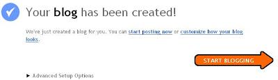 Start Blogger