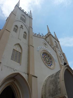 Iglesia cristiana St Francis Xavier Malasia