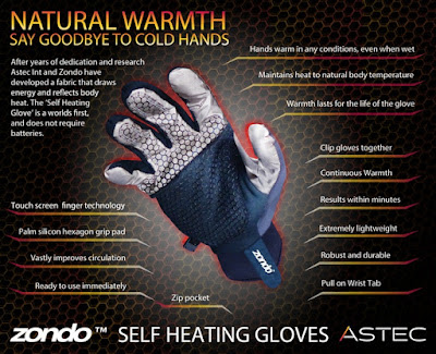 Zondo Self Heating Gloves