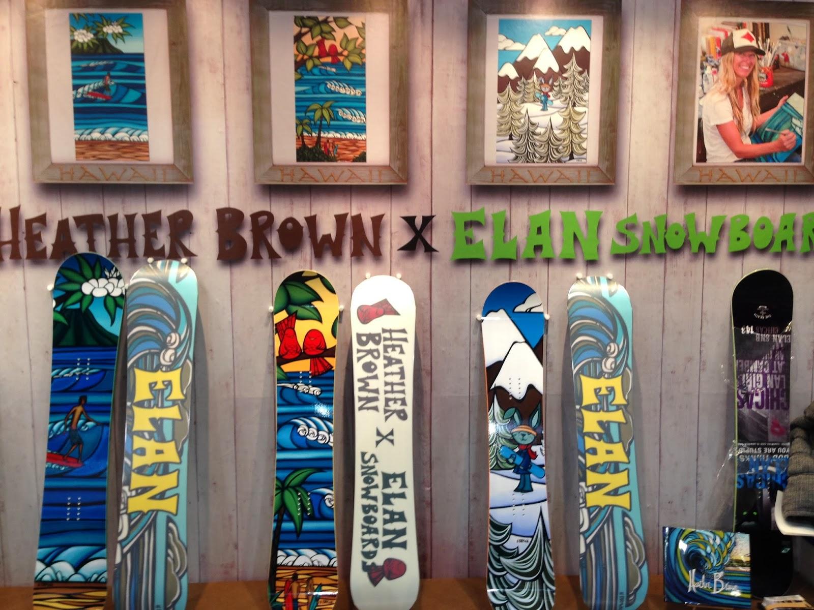 elan snowboards