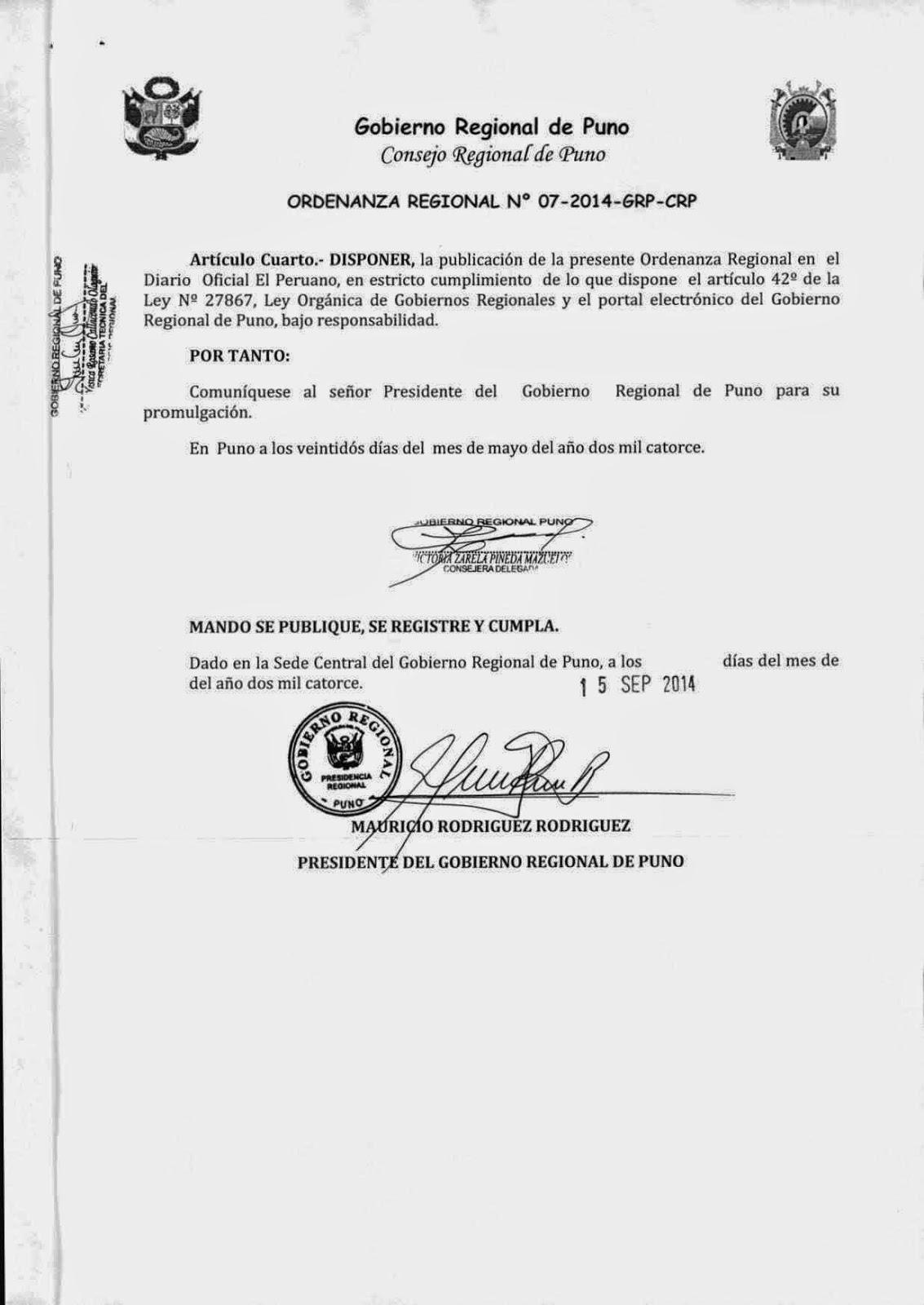 ARCHIVO REGIONAL DE PUNO - Red de Archivos y Bibliotecas Históricas ...