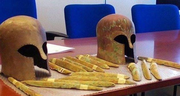 Ανασύρθηκε το μυθικό μέταλλο της Ατλαντίδας από το πλοίο που ναυάγησε στη Σικελία πριν 2.600 χρόνια! (βίντεο)