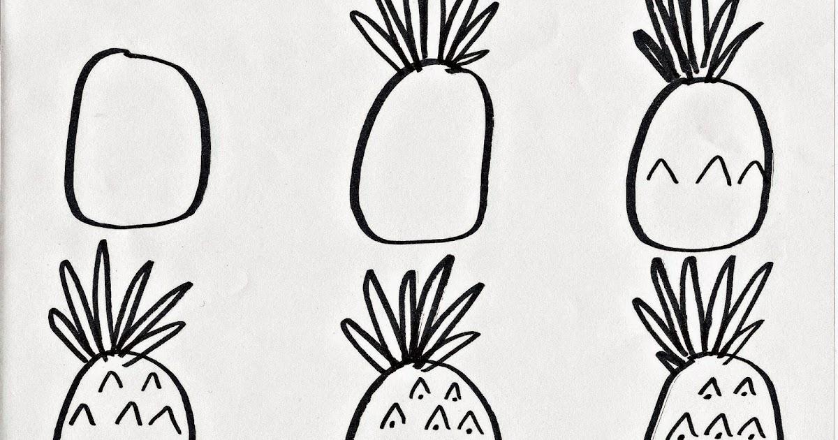 Pandapple Drawing