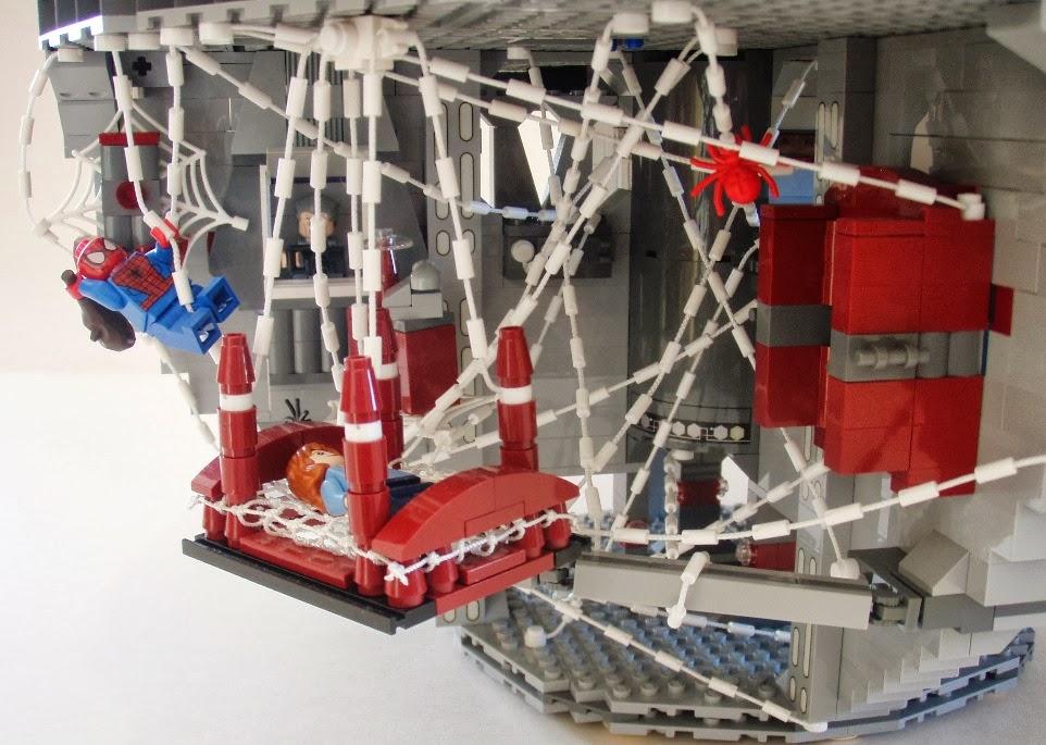 Lego Spiderman Malvorlagen Star Wars 1 Lego Spiderman: The Brickverse: Super Heroes Invade The Death Star