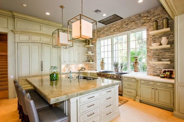 Hogares frescos 19 elegantes ideas de dise o para cocinas for Disenos cocinas abiertas