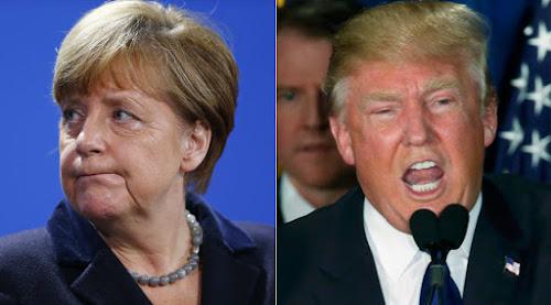 Donald Trump x Angela Merkel