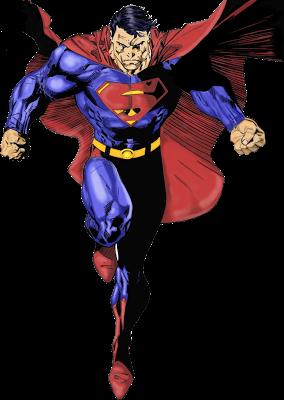 Render Super Man