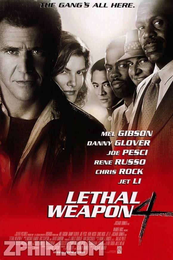 Vũ Khí Tối Thượng 4 - Lethal Weapon 4 (1998) Poster