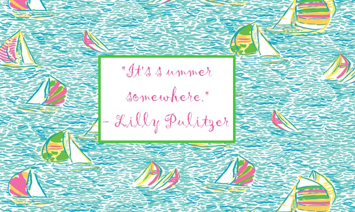 Lilly Lemons Lilly Pulitzer Wallpaper