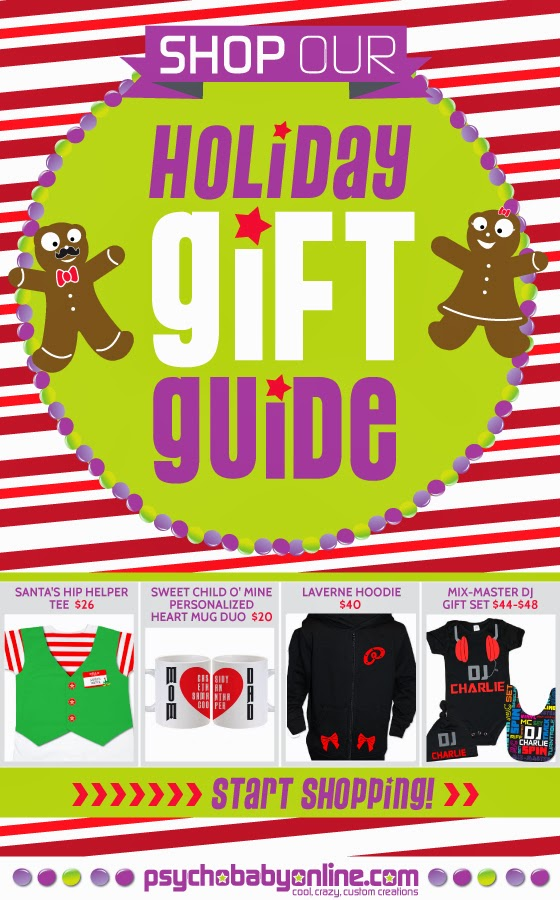 Psychobaby 2013 Holiday Gift Guide