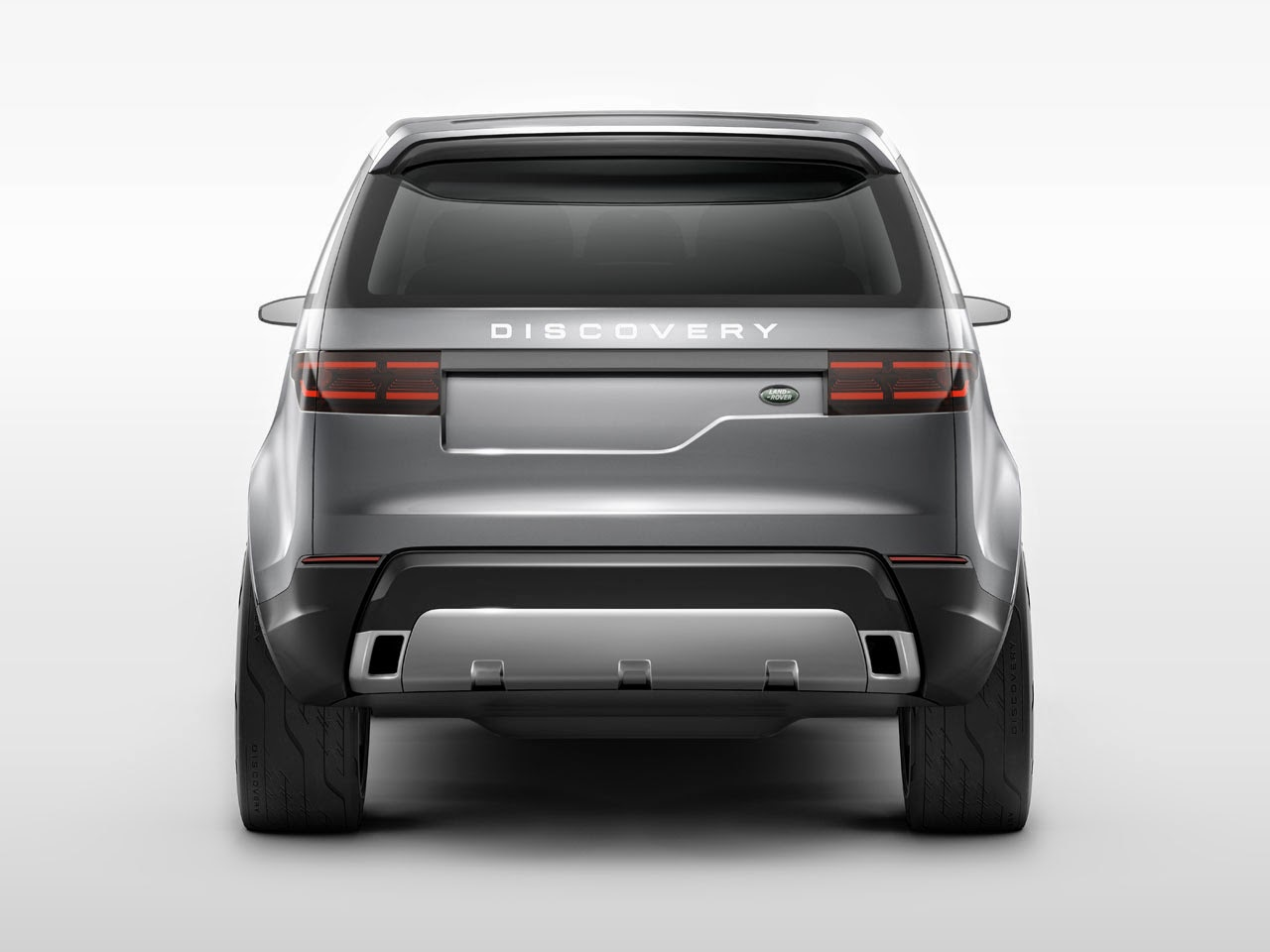 Land Rover Discovery Vision Concept rear