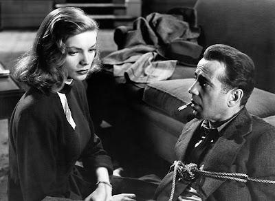 """Humphrey Bogart y Lauren Bacall en un fotograma de la película """"El Sueño Eterno"""" (1946)"""