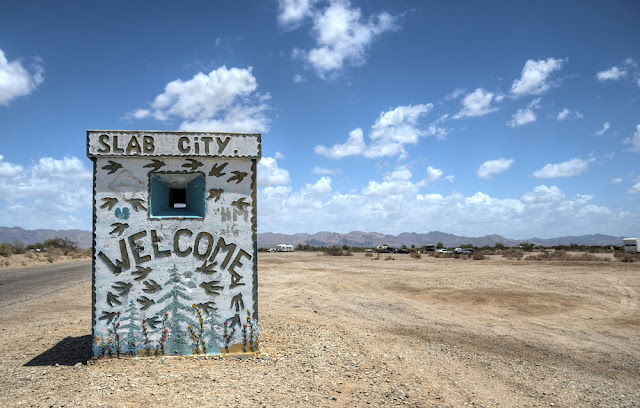 Slab City, Salton Sea, Californie, USA