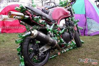 Funny Drunken Bike