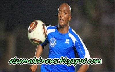 سادومبا مهاجم أهلي بني غازي الزامبي الدولي