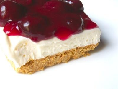 Mercado's Life Lessons: No Bake Cherry Dessert