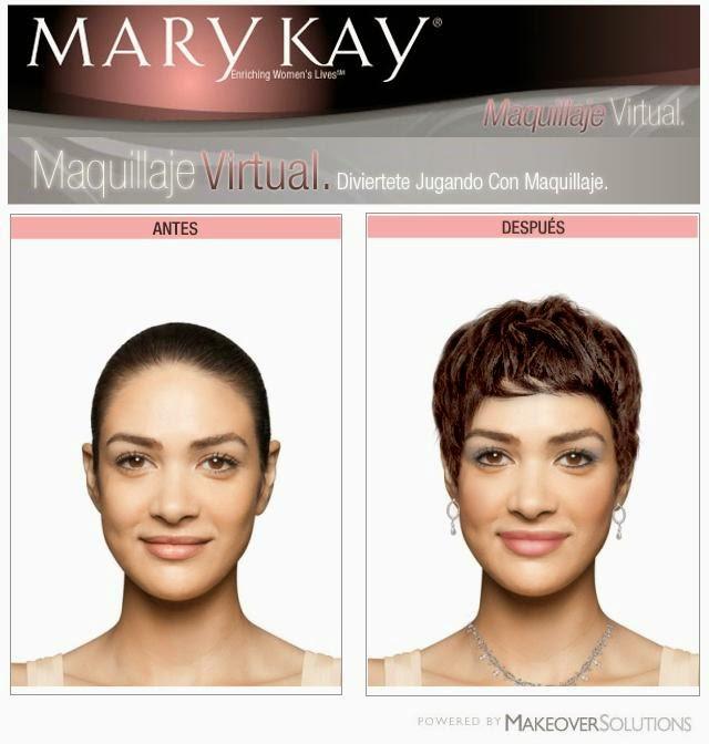 Maquillaje virtual de Mary Kay