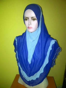 TUDUNG RIHANA SIZE XL (JUN 2014)