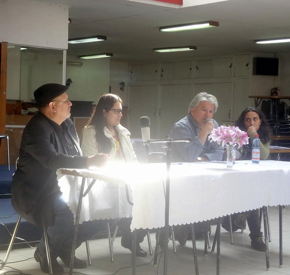 Mesa Academica: Luis Vega,Silvia Rodriguez,Fabio Silva,Karina Garcia
