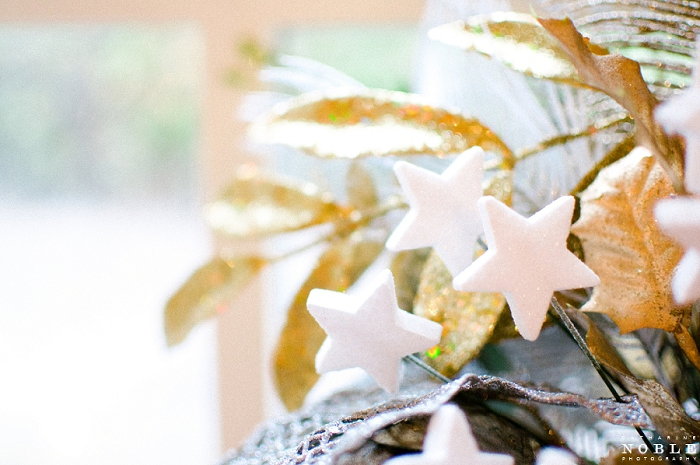 star floral arrangements christmas