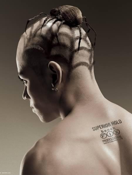 Tato Rambut Paling Unik Di Dunia