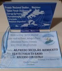 """Premio """"Destino...Malvinas"""" 2019"""