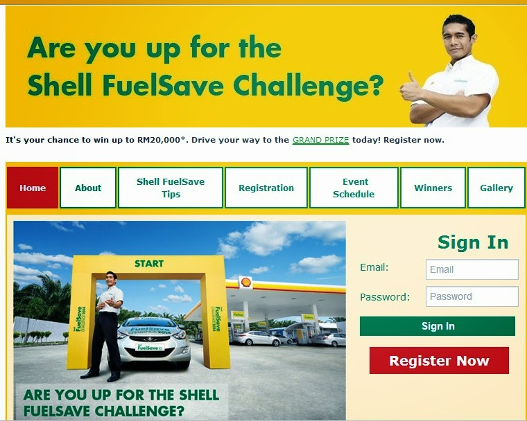 Wah SHELL FuelSave Challenge 2014 Sudah Ada Pemenang Bagi Wilayah Pertama