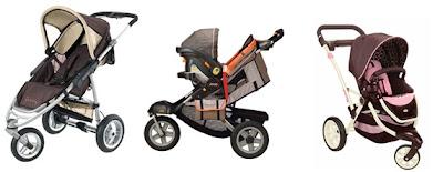 Carrinho de bebê: Três rodas ou cooper