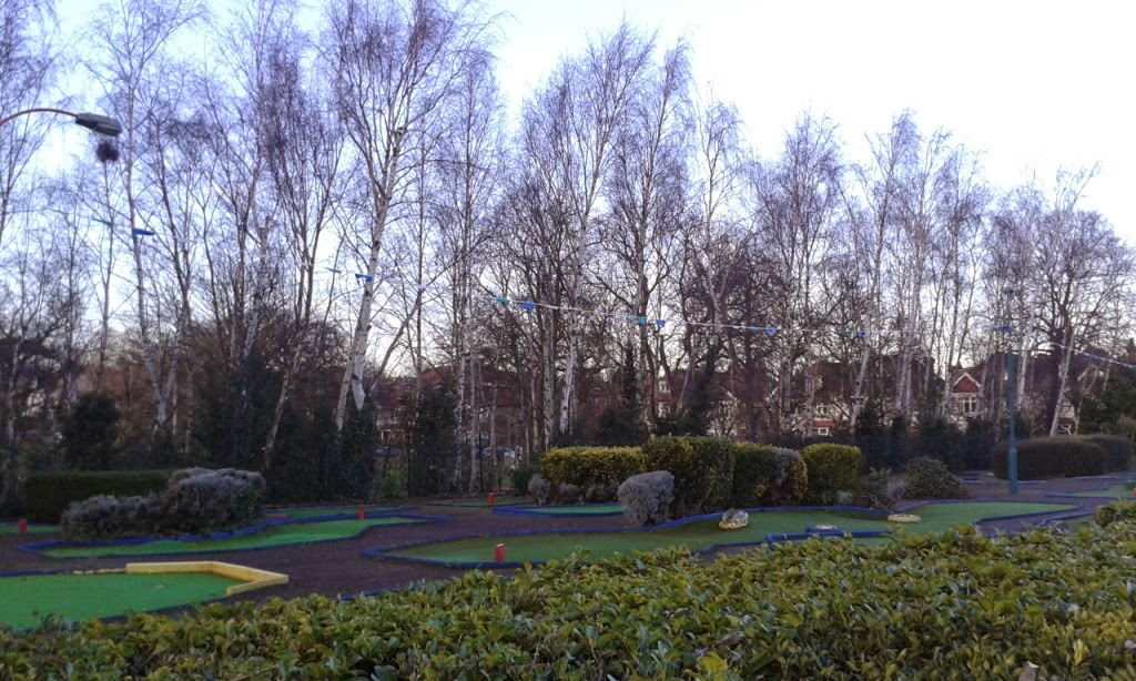 Adventure Golf at Broomfield Park in Palmers Green, London